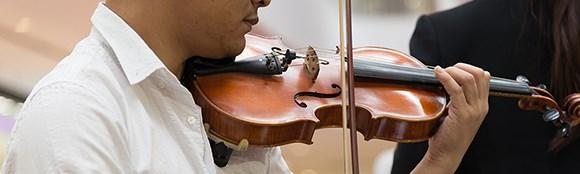 Violinspil